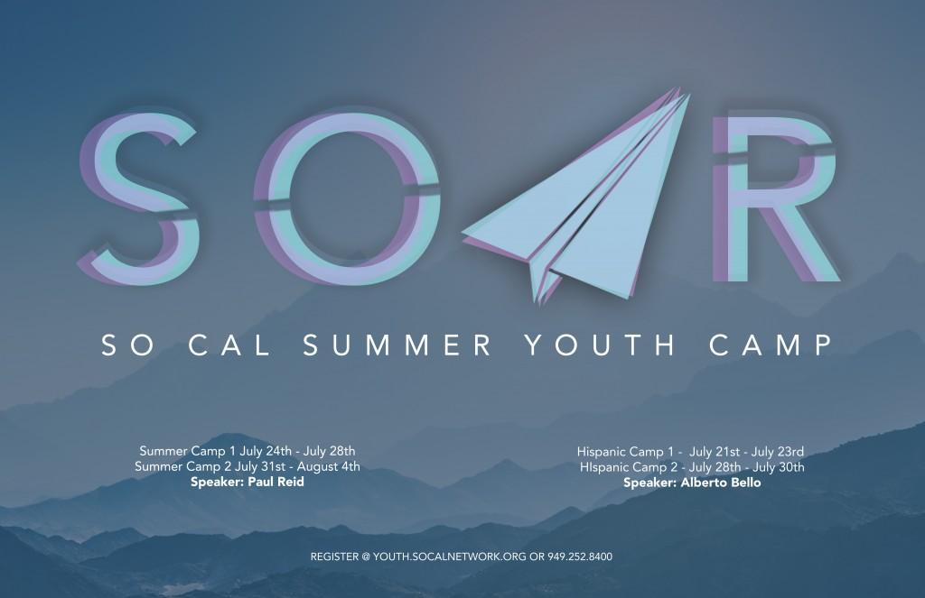 SOAR SUMMER CAMP 11x17